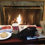 Un café calentito y una galleta al volver por la tarde