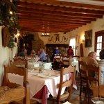 Inside view restaurant