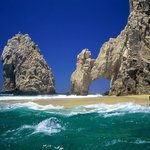 Lover's Beach, take a water taxi from Cabo