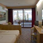 Camera doppia con vista lago