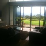 our relaxing downstairs area with stunning views