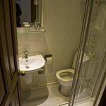 Badezimmer vom ersten Zimmer