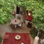 Innenhof vom Riad