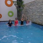 Unforgettable swimming pool