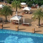 Chaba pool  area