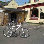The bike hut