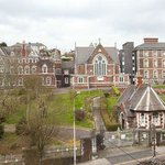 View of Griffith College Cork from Parkview B&B