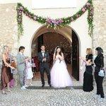 Cerimonia al Monacato di Villa Euchelia
