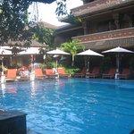 Pool area (not the swim-up-bar-pool)