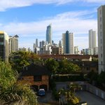 View from balcony towards Surfers Paradise