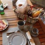 A ne surtout pas manquer : le petit déjeuner !