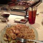 Hibachi style food