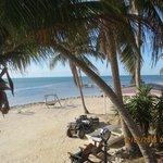 Beach area at resort!!