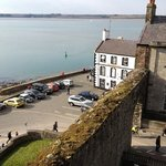 The B&B from the top of Caernarfon castle!