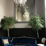 """Beautiful """"parlor"""" at The Culver; felt like I was in Paris."""