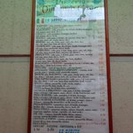 The outdoor menu