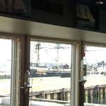 Views from dining room of Capt's Waterfront