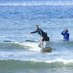 First lesson surfing success!