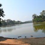 Moat at Angkor Wat