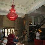 Hall de entrada e acesso ao bar e café