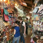 Shopping in Ben Thanh market
