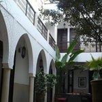 Le centre du Riad