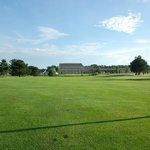The Inn at Oak Terrace overlooks Oak Terrace Golf Course Hole #9