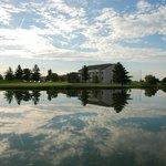 The Inn at Oak Terrace overlooks Oak Terrace Golf Course Hole #5