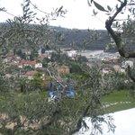 Vista verso le colline