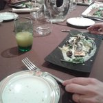 assiete d'escargots