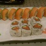 Decent sushi rolls but bad practices