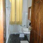 bathroom, door view