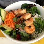 Lemongrass Shrimp Salad