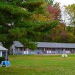 Fall day Chamber Lane Motel