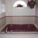 Double jacuzzi tub in the Jenny Lind Suite