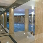 Pool - three-four floors under suites