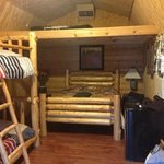 inside our second nites cabin