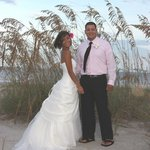 House of Sea and Sun Bride and Groom