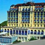 aussenansicht des hotels montana