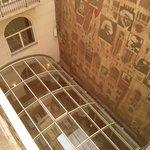 Depuis le balcon de la chambre (cour intérieur)