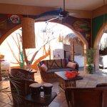 Leo's, view of patio off master bedroom