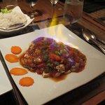 Spicy Garlic Chicken Dish