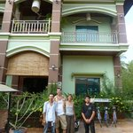 The Guesthouse with Owners and Staff