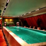 Pool on top floor