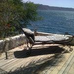 Para descansar...al lado de la piscina privada