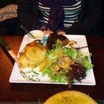 Steak, Dauphinois Potatoes and Salad