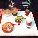 Cafe Gourmand dessert