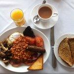 Lovely Swiss House Breakfast
