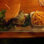 Burger at The Bull Castleton