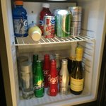 Mini-fridge.